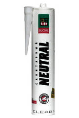 BeLife Герметик силиконовый нейтральный 310 мл, белый