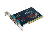 Промышленная 2-х портовая RS-422 / 485 универсальная плата расширения с интерфейсом PCI. (IPC-P2102)