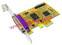 Двухпортовая плата расширения LPT(IEEE1284) с интерфейсом PCI Express X1 (PAR4418AL)