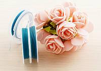 Резинка силиконовая 1 мм голубая