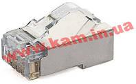 Коннектор Panduit RJ45 экранированный, 5E категория, цена за 1 шт. (упаковка 100шт) (MPS588-C)