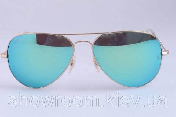 Женские солнцезащитные очки в стиле RAY BAN aviator large metal 112/19 LUX