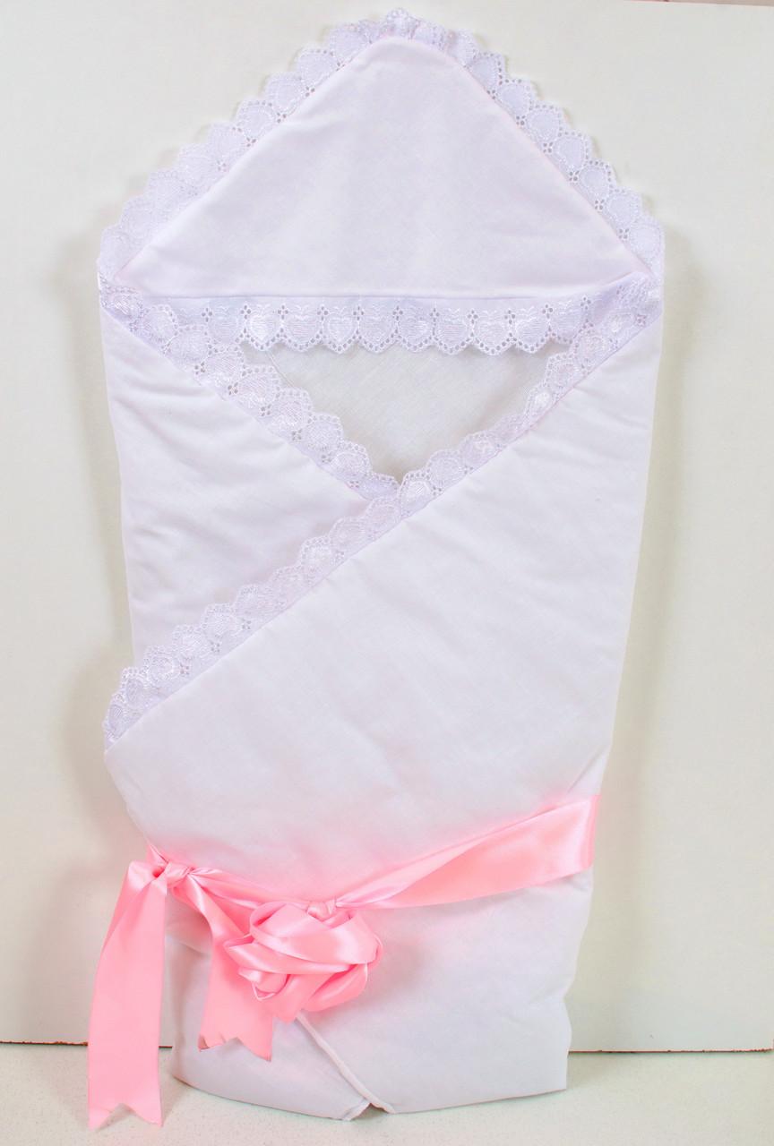 Теплий зимовий конверт-ковдру на виписку для новонароджених