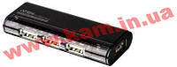 4-портовый USB 2.0 концентратор (Разъемы: 1 x USB Mini Type B Female + 4 x USB Type A (UH-284 Black)
