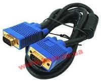 1.8 м. кабель/ шнур, монитор => монитор (1 х D-Sub-15 Male, 1 х D-Sub-15 Female), VGA кабе (2L-2402)