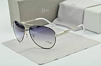 Женские солнцезащитные очки авиаторы Homme (черная оправа), фото 1