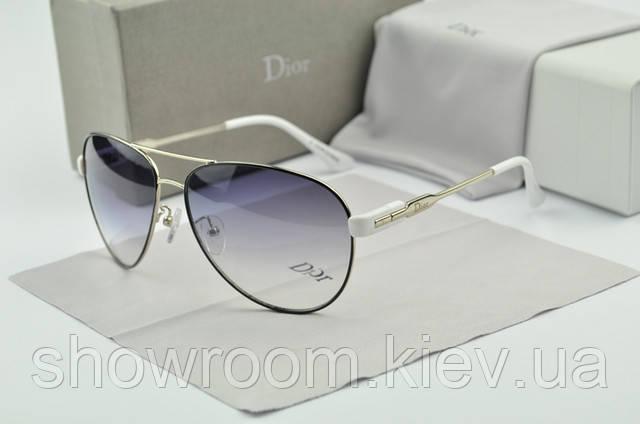 Женские солнцезащитные очки авиаторы Homme (черная оправа)