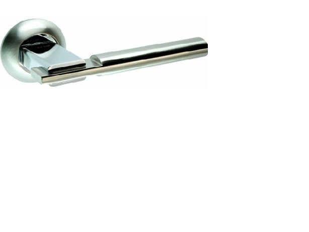 Ручка раздельная ТМ Kedr R10.038-AL-SN/CP (Сатин-хром)