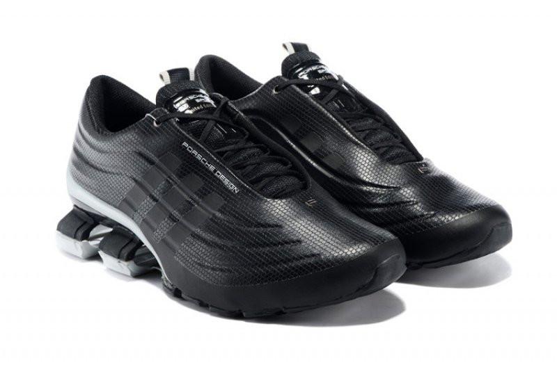 b0eec18f Кроссовки в стиле Adidas X Porsche Design Sport BOUNCE S4 Black Grey -  Интернет-магазин