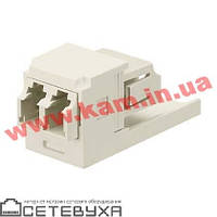 Каплер Panduit LC Duplex Mini-Com, керамика (CMDJLCZAW)