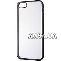 Силиконовый чехол Baseus Lustre Clear для Apple iPhone 5 / 5S черный