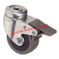 Ролик для напольных шкафов, с фиксатором, грузоподъемность 50 кг (1 шт.) (DP-KO-02)
