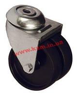 Ролик для напольных шкафов, с фиксатором, грузоподъемность 100 кг 1шт. (DP-KO-H2)