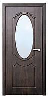 Дверь межкомнатная остекленная Зеркало (Тик)