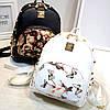 Женский маленький рюкзак с шипами, фото 5