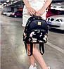 Женский маленький рюкзак с шипами, фото 4