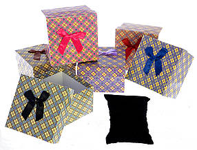 Подарочная упаковка Ромбик 9х9х5,5 см