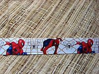 Лента репсовая с рисунком. Человек-паук