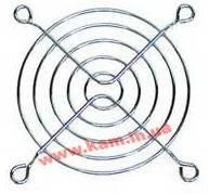 Хромированная 8x8см решетка-гриль для защиты лопастей вентилятора, AIC. (FAN-GUARD-8cm)