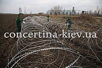 Концертина-3х1500/7 колюче-режущая проволочная сеть