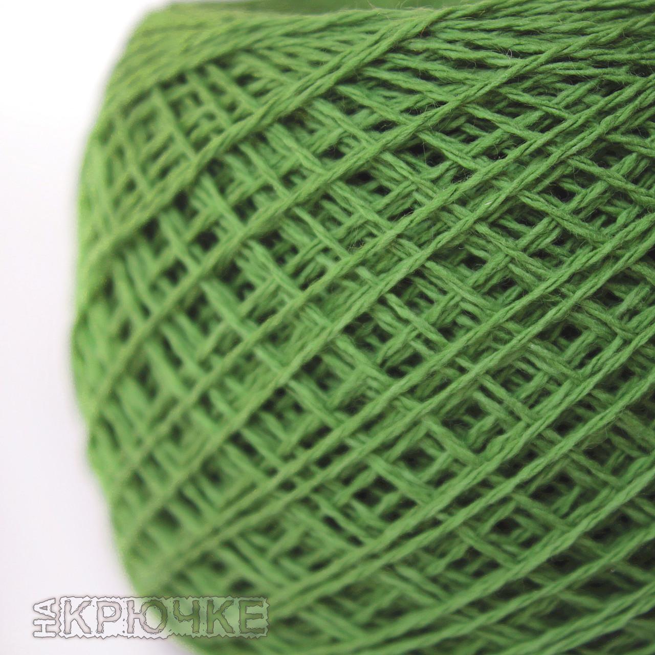 Пряжа хлопковая Ярослав цвет №79 травяной