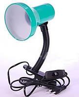 Светильник DELUX TF-04 E27, настольный, зеленый