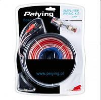 Монтажный комплект для автомобильного усилителя Peiying ZLA0411