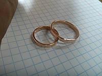 Изготовление обручальных колец под заказ из золота
