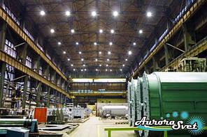 Производственное освещение. LED освещение. Светодиодное освещение производственных помещений.