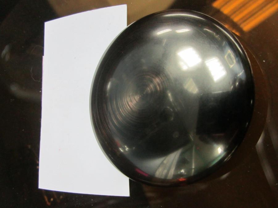 """Донный клапан (сифон, слив) для умывальника """"Клик-клак"""" - темная медь"""