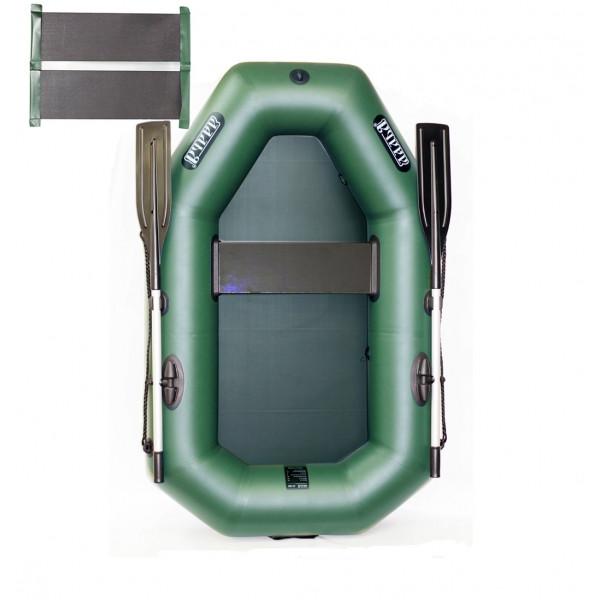 Надувная пвх лодка Ладья Лт 190 УС