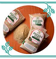 Органическая зеленая соль с ростками пшеницы, 50 г