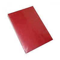 Обложки А4, 400 мк., Satin, красные,100 шт/упак.