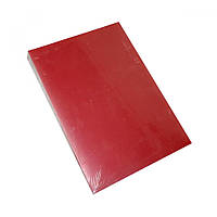 Переплести диплом диссертацию в Борисполе Сравнить цены и  Обложки А4 400 мк grain красные 100 шт упак
