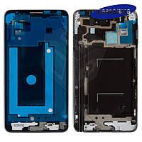 Рамка крепления дисплея для Samsung Note 3 N9005, серая, оригинал