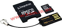 Карта памяти Kingston microSDHC 32GB Class 10 (MBLY10G2/32GB)