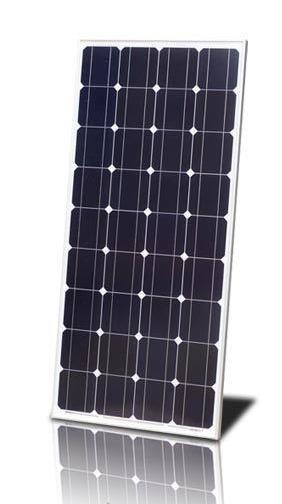 Монокристалическая солнечная панель (батарея) ALM-100M 100Вт, фото 1