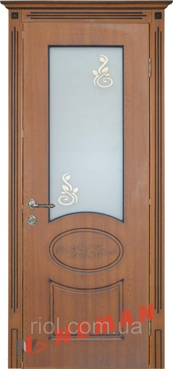 Дверь межкомнатная остекленная Версаль серия Вип