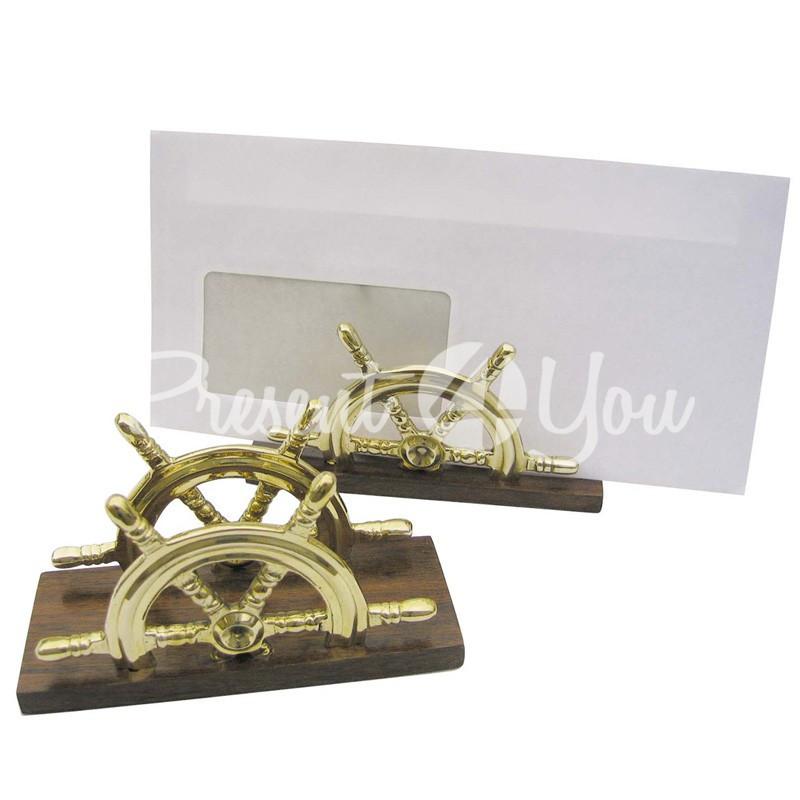 Морской сувенир подставка для конвертов 12,5х5х7 см.