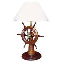 Морской сувенир настольная лампа «Штурвал», h-55 см., d-21,5/35 см., Sea Club
