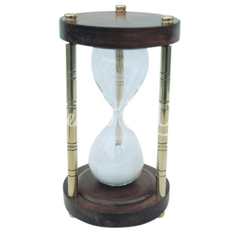 Морской сувенир песочные часы, 5 мин.,h-15 см., Sea Club