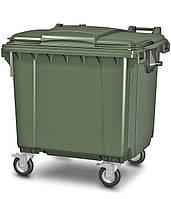 Мусорный контейнер, на 1110 литров (ВхШхГ - 1360х1090х1350)