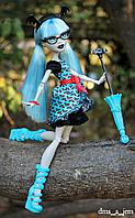 Кукла монстер хай Чумовое слияние Гулия Йелпс Monster High Freaky Fusion Ghoulia, фото 1