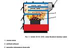 Пеллетный котел Еmtas EK3G-OA/S-100 трехходовой с бункером, автоподжиг, 1 шнек, фото 3