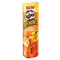 Pringles Sweet Paprika 190 г. Бельгия