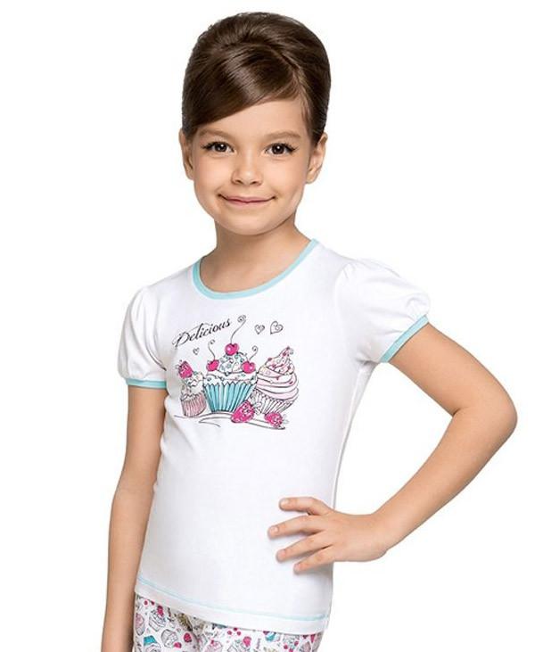 Яркие детские футболки для девочек