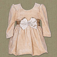 """Платье """"Красуня""""  велюр, р. 74-92. Цвета разные."""