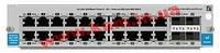 HP 20-port Gig-T / 4-port SFP vl Module (J9033A)