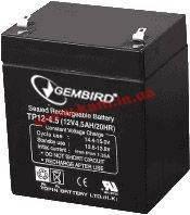 Батарея к ИБП GEMBIRD 12В 4,5 Ач (BAT-12V4.5AH)