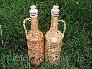 Бутыль плетенный 1 л